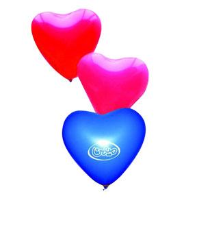 بادکنک تبلیغاتی (قلبی)